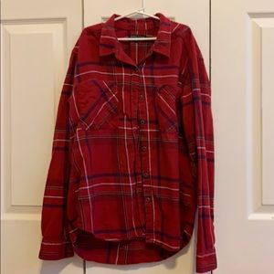 PacSun flannel- kendall and Kyle XS/S